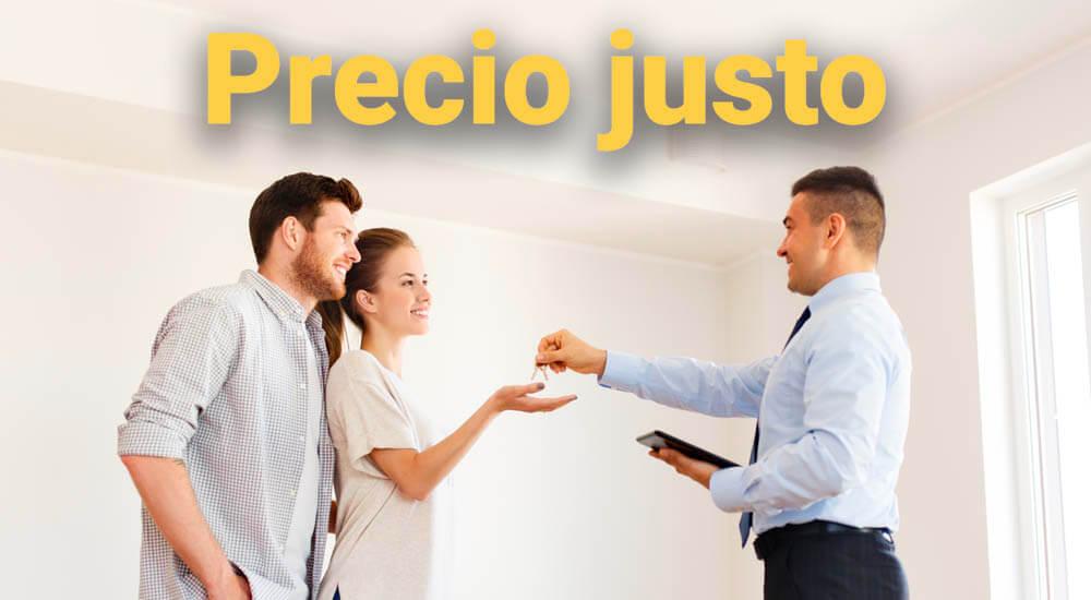 contratar agente inmobiliario precio