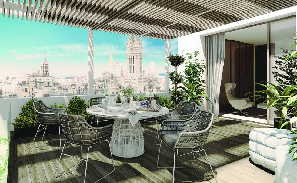 Los mejores pisos de lujo en Madrid